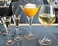 Gastronomie - Beaumes de Venise & comptée d'abricot - glace vanille.jpg