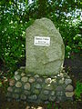 Gedenkstein Hannes Flesner in Aurich-Rahester Moor.JPG