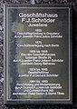 Gedenktafel Leipziger Str 26 (Mitte) F J Schröder.jpg