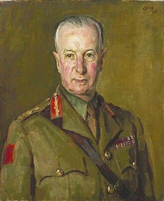Anti-Aircraft Command - Sir Frederick Pile, GOCinC, AA Command, during World War II