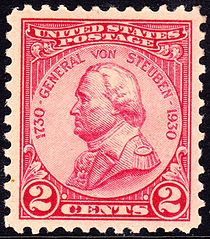 Two cent postage stamp