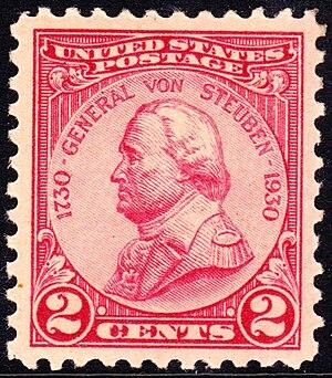 Friedrich Wilhelm von Steuben - General Von Steuben, 1930 Issue
