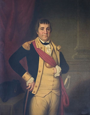 William Barton (soldier) - William Barton, painted by James Sullivan Lincoln