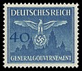 Generalgouvernement 1943 D33 Dienstmarke.jpg