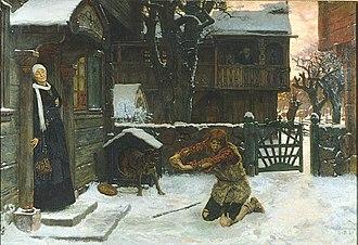 Georg von Rosen - Image: Georg von Rosen Den förlorade sonen