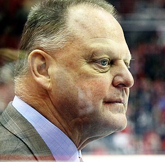 Vegas Golden Knights - Image: Gerard Gallant 2018 02 04 2