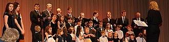 Bulgarian Children's Chorus and School Gergana - Image: Gergana Chorus March 3, 2013
