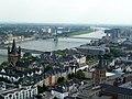 Germany - Kölner Dom – Aufstieg zum Turm - Groß Sankt Martin am Fischmarkt - Severinsbrücke - panoramio.jpg