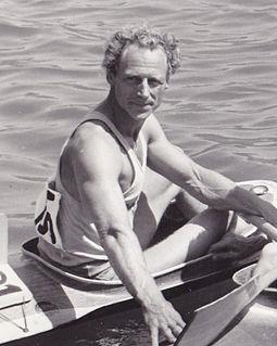 Gert Fredriksson Swedish canoeist