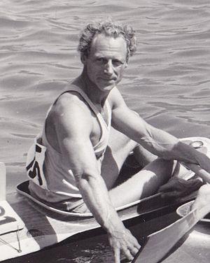 Gert Fredriksson - Gert Fredriksson at the 1960 Olympics