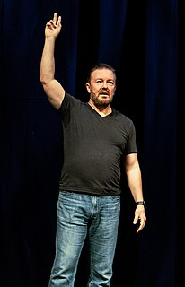 Ricky Gervais English comedian, actor, director, and writer
