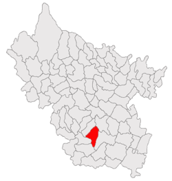 Location of Gherăseni