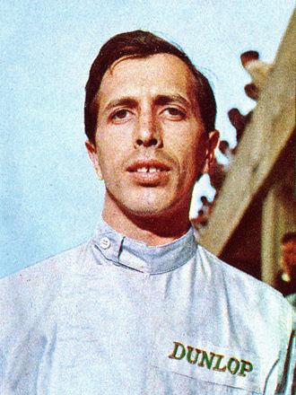Geki (racing driver) - Giacomo Russo c. 1966