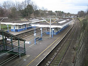 Gidea Park - Gidea Park railway station in 2007