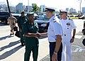 Gilbert Toropo, the Papua New Guinea chief of defence, visits U.S. Coast Guard Sector Honolulu, Sept. 18, 2019 - 190918-G-NO310-392.jpg