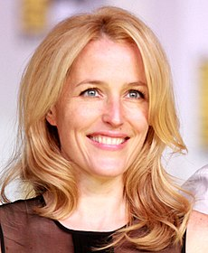 Gillian Anderson på San Diego Comic-Con International 2013.