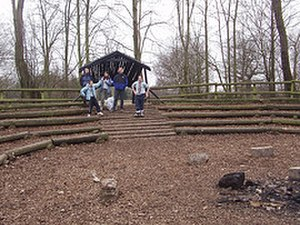 Gilwell Park - The Small Campfire Circle at Gilwell Park.