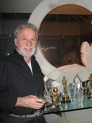 "Italian composer Giorgio Moroder is known as the ""Father of Disco"". Giorgio Moroder (cropped).jpg"