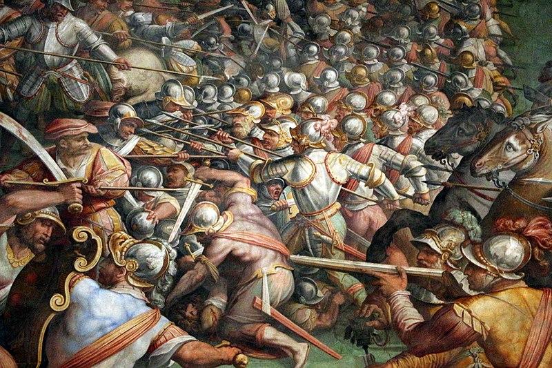 File:Giorgio vasari e aiuti, la battaglia di marciano in ...