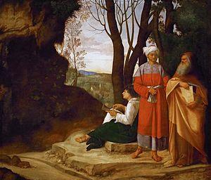 1507 in art - Image: Giorgione 029b