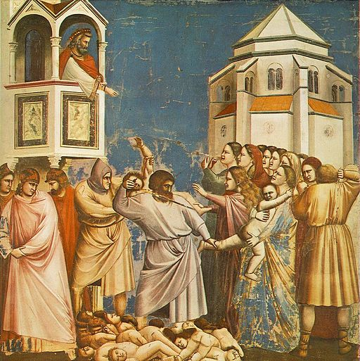 Giotto - Scrovegni - -21- - Massacre of the Innocents