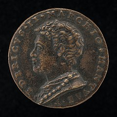 Federigo II Gonzaga, 1500-1540, 5th Marquess of Mantua 1519 and 1st Duke of Mantua 1530 [obverse]