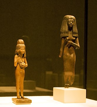 Egyptian Museum of Berlin - Image: Girl with a cat