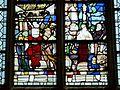 Gisors (27), collégiale St-Gervais-et-St-Protais, collatéral sud, verrière n° 20 - vie de sainte Barbe 4.jpg