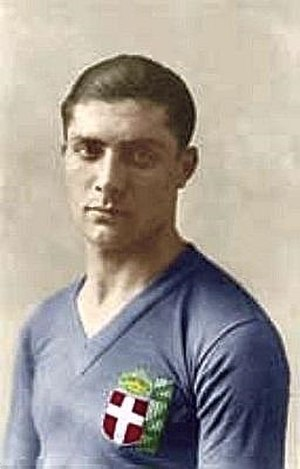 Italy national football team - Giuseppe Meazza played from 1930 to 1939 in the national team.