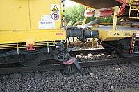 Gleisbauzug von Plasser & Theurer nahe Bahnhof Osterholz-Scharmbeck 08.JPG