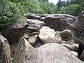 Glen Massan, Rocks - geograph.org.uk - 195295.jpg