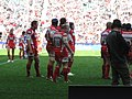 Gloucester Rugby cardiff blues edf cup april 2009 2.jpg