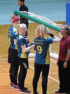 Australia womens national goalball team Australian national team, for the Paralympic sport of goalball