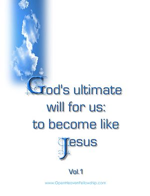 Gods ultim will become like Jesus cover