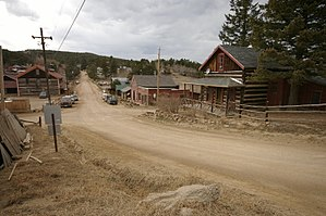 Gold Hill, Colorado - Image: Gold Hill Historic District Gold Hill CO