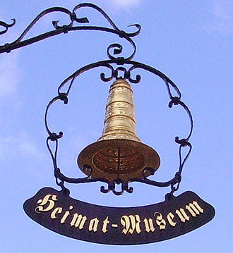 Golden Hat of Schifferstadt - Depiction of the Schifferstadt Hat at the local Historical Museum of the Palatinate