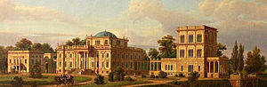 Ivan Paskevich - Paskevich Palace in Homel, Belarus (as painted by Marcin Zaleski)