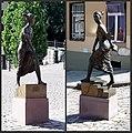 Gotha Goebel Denkmal Herzogin Luise Dorothea Doppelbild.jpg