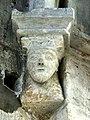 Gournay-en-Bray (76), collégiale St-Hildevert, chapelle du croisillon sud, cul-de-lampe dans l'angle sud-ouest.jpg