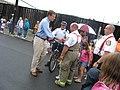 Gov. Warner at the Local 675 Covington Labor Day Parade (234949566).jpg