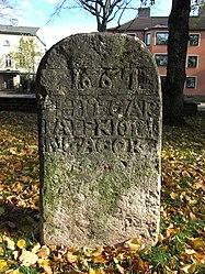 Gränssten i Planteringsförbundets park (Raä-nr Falköping 29-2) 3045.jpg