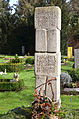 Grabmal Wilhelm Hauschild 1902-1983, Margarete Stimme 1902-1961, Hans-Wolf Grope 1924-2008, Heinrich Stimme 1873-1946, Stadtfriedhof Engesohde, Hannover (01).jpg