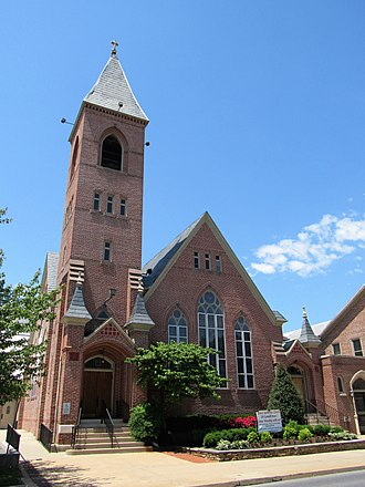 Carroll County, Maryland - Image: Grace Lutheran Church Westminster, Maryland 01