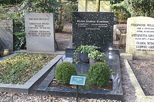 Wim Duisenberg - Duisenberg's grave at Zorgvlied in Amsterdam in 2006