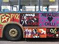 Graffiti on bus in Amsterdam 2009.jpg