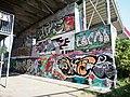 Graffiti op de Amsterdamse brug, brug 54P pic2.JPG