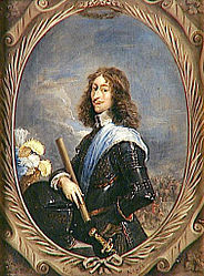 ダフィット・テニールス: Portrait of Louis II de Bourbon-Condé dit le Grand Condé