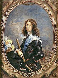 Tableau représentant le portrait d'un homme.