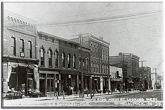 U.S. Route 16 in Michigan - West Grand River Avenue in Howell, 1900
