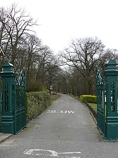 Grangewood Park park in the United Kingdom